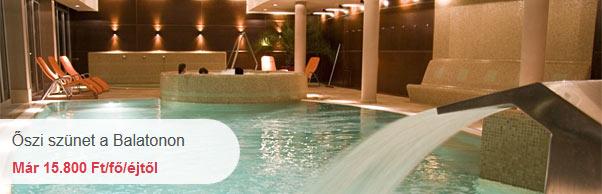Hotel Silverine - Őszi szünet a Balatonon